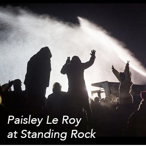 Paisley Le Roy at Standing Rock