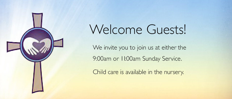 Welcome! 9 and 11am services