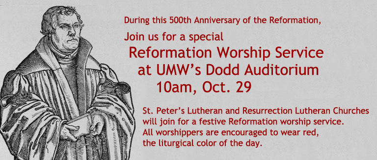 Reformation event 10.29 at 10am