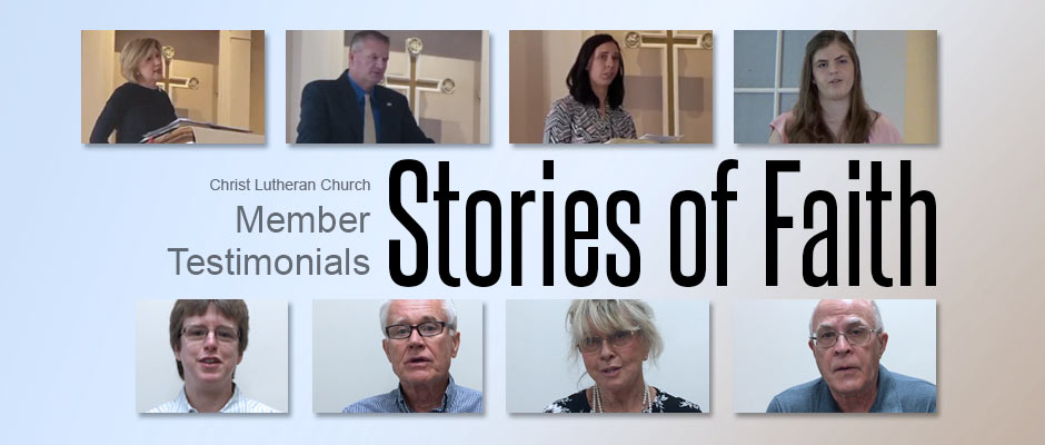 Stories of Faith video testimonials