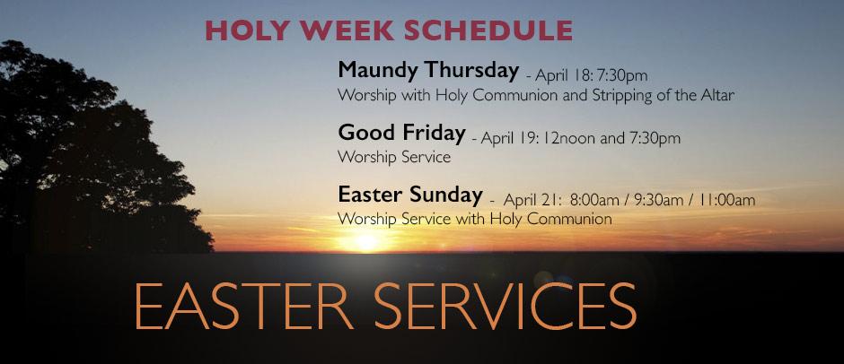 Easter Holy Week 2019